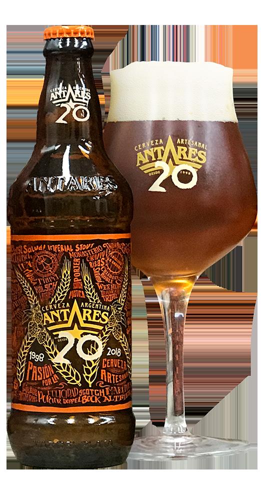 Cerveza Antares 20 Años